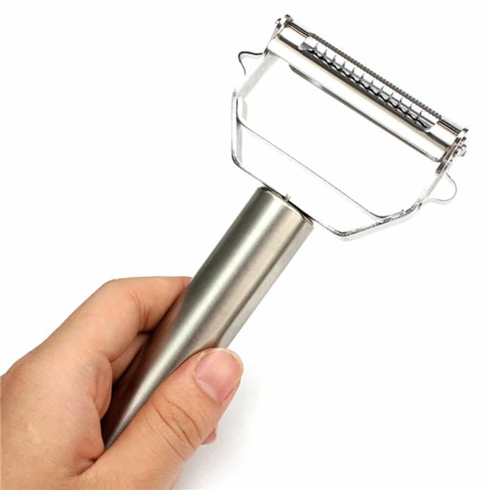 multifunction julienne peeler stainless steel vegetable peeler