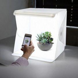 """24cm / 9"""" Mini Folding Lightbox Photography Studio Tent Kit"""