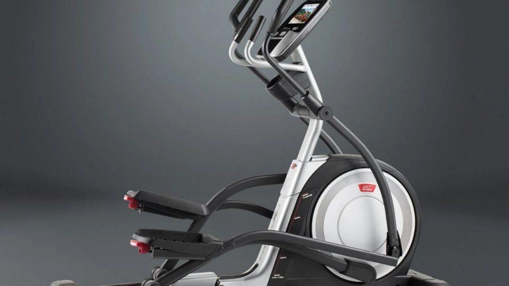 front drive elliptical trainer machine
