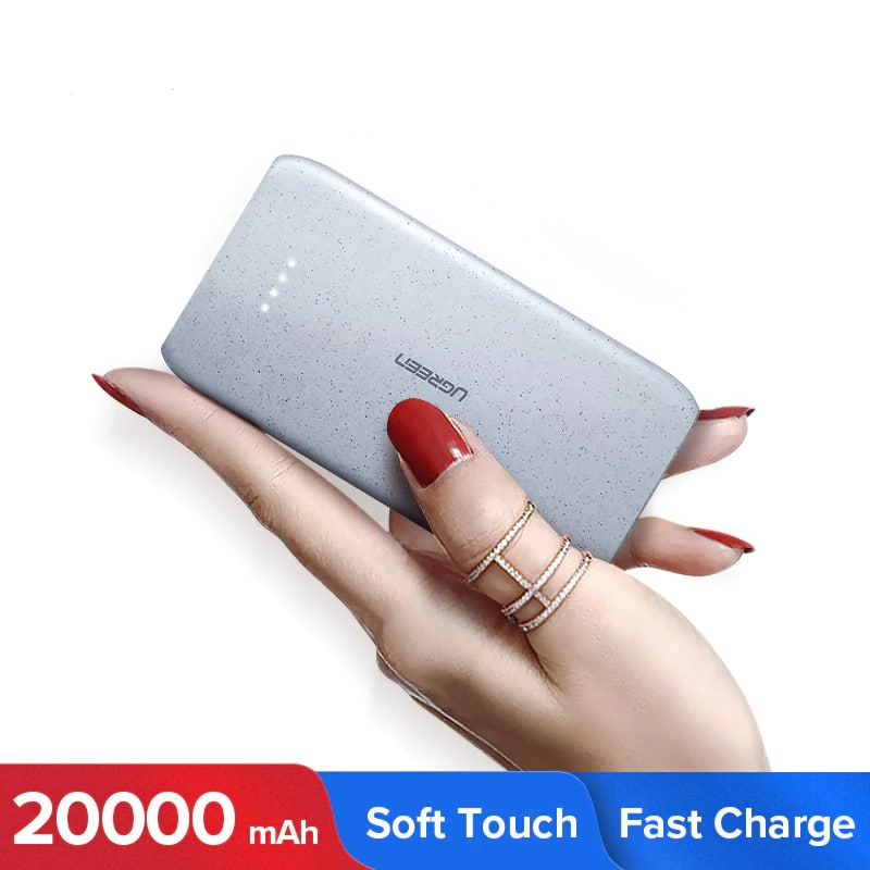 ugreen 20000mah portable charging power bank with external battery for all mobile phones