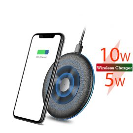 suntaiho qi5w/10w wireless cradle charger for mobile phone with fast charging dock