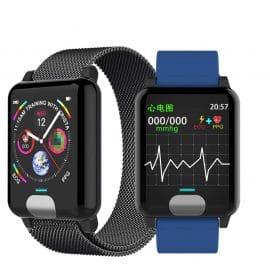 Chycet Smart Watch or Smart Bracelet for ECG PPG and Blood Pressure Measurement