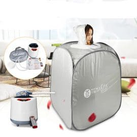 Indoor 2l 220v 60hz 1000w Foldable Portable Steam Sauna Room Tent Loss Weight Slimming Skin Spa For Personal Health Care