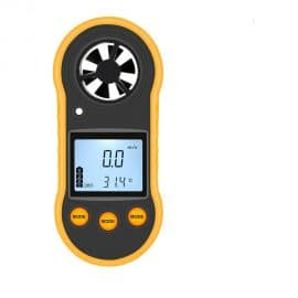 RZ GM816 Digital Anemometer Used as Wind Speed Meter for Air Velocity and Temperature Measurement