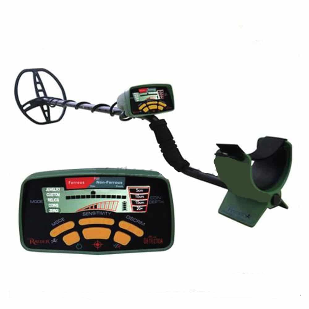 MD 6350 Underground Metal Detector Gold Digger Treasure Hunter with Coin Depth Indicator