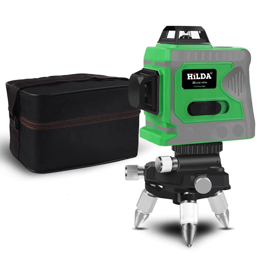 360 Degree Rotating and Self Leveling Laser Level with 12 Horizontal And Vertical Lines