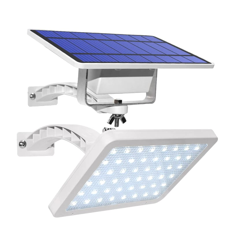 800lm Solar Outdoor Light for with 48 LED With Adjustable Lighting Angle for Garden and Yard Security