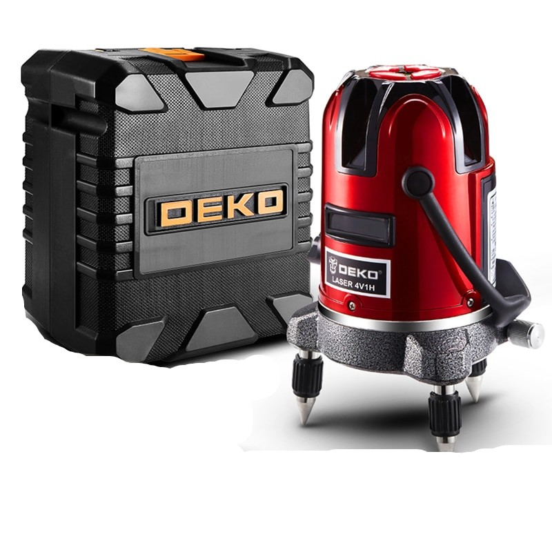 DEKO LL5 Series Self Leveling Laser level with 360 Degree Fine Tuning Knob for Higher Visibility