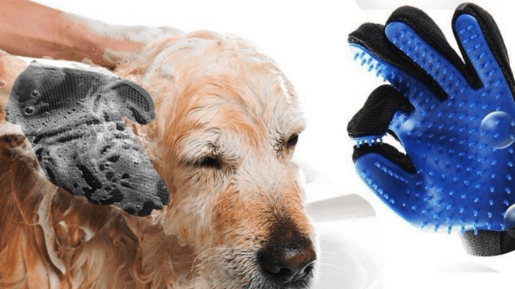 Pet grooming gloves For dogs
