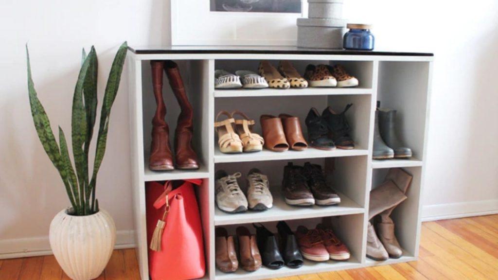 best wooden shoe rack