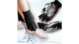 exfoliating shower gloves