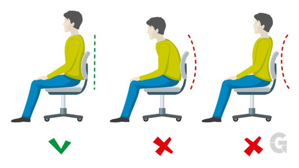 Correct Sitting Posture For Laptop Stands