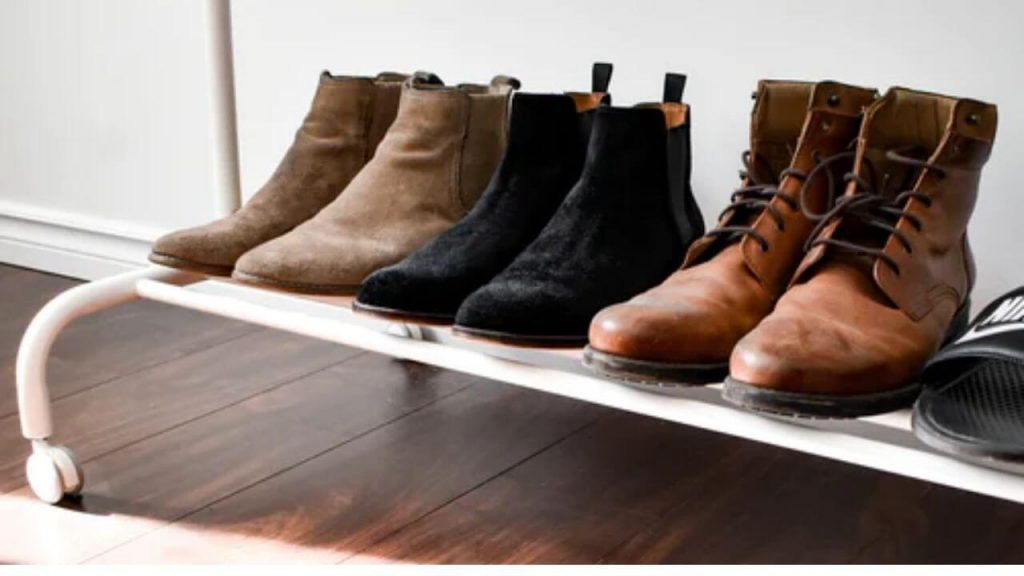 shoe storage ideas for small space