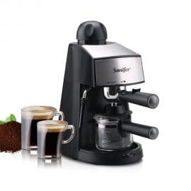 SONIFER 240ml Semi-Automatic Coffee Maker with Removable Drip Tray for Latte/Mocha