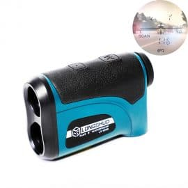 Laser 800m-1200m Rangefinder with LCD Display and Golf Slope Adjustment Mode for Sports