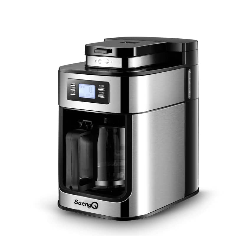 saengQ 1200ml Fully-Automatic Espresso Machine and Electric Coffee Maker