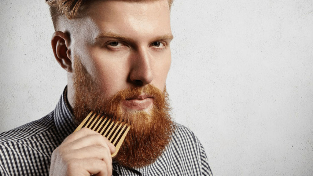 This image has an empty alt attribute; its file name is Beard-Straightener-for-short-beard-1024x576.png