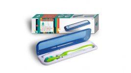 UV sanitizer toothbrush