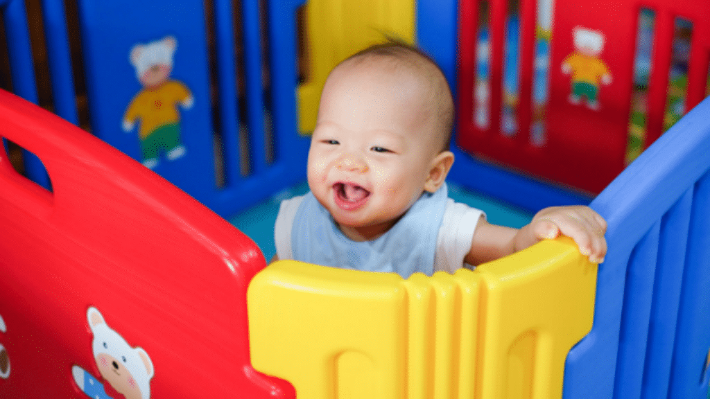 This image has an empty alt attribute; its file name is baby-playpen-gate-1024x576.png