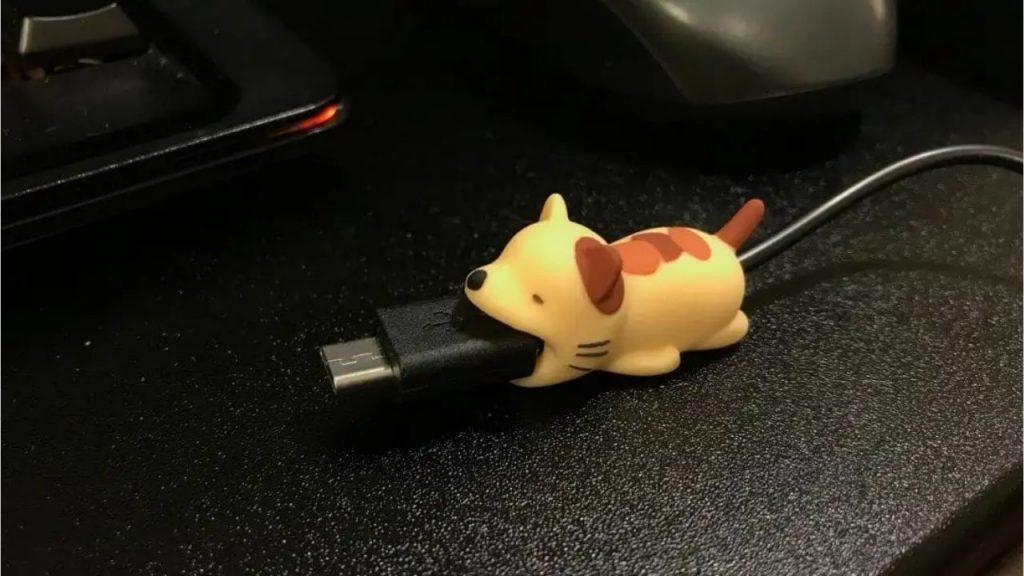 cartoon charging cord