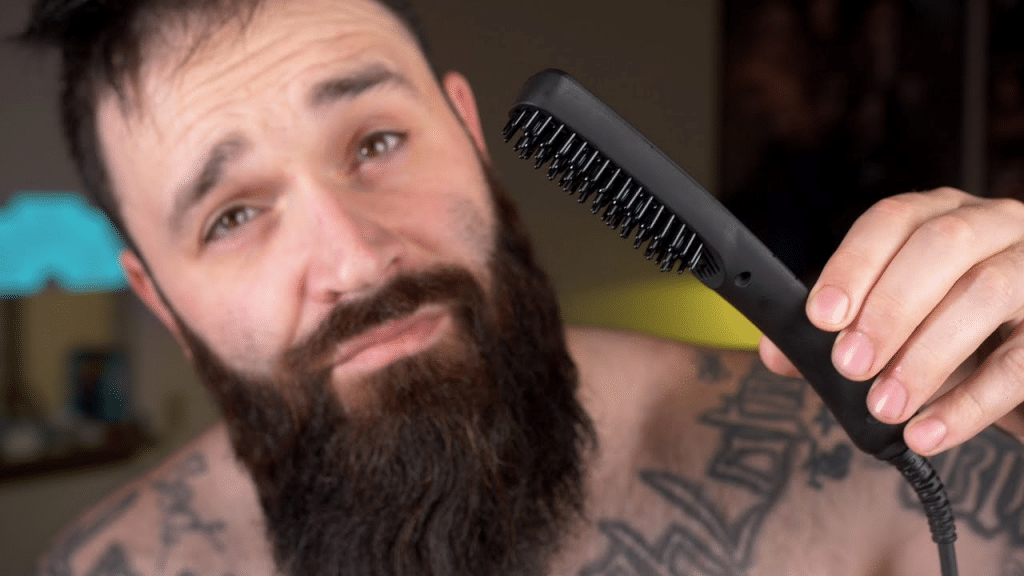 This image has an empty alt attribute; its file name is cordless-Beard-Straightener-1024x576.png