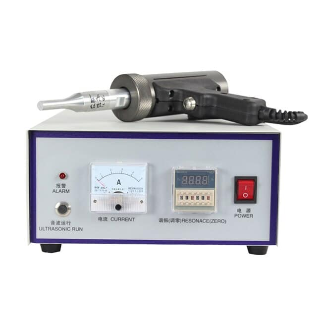 Single-Phase Ultrasonic Spot Welding Machine With Two Kinds Handheld Type