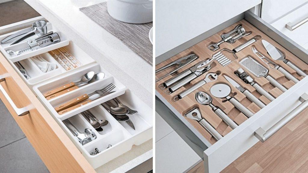 Best kitchen cabinet drawer organizer