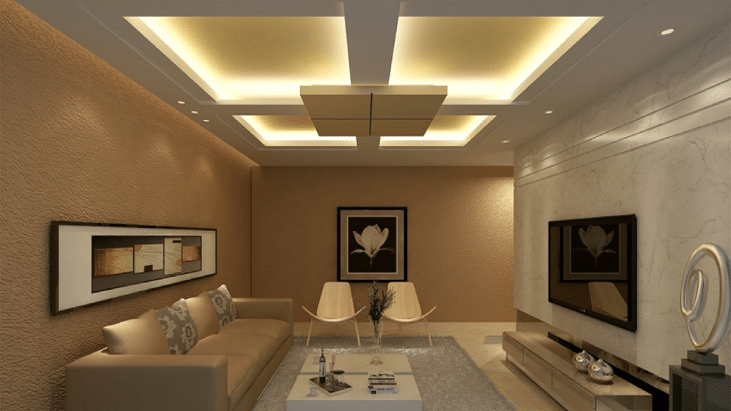 Square LED Ceiling Light