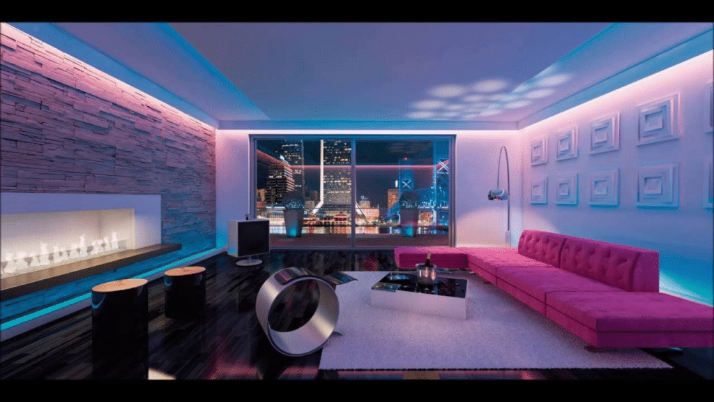 flush mount LED ceiling lights