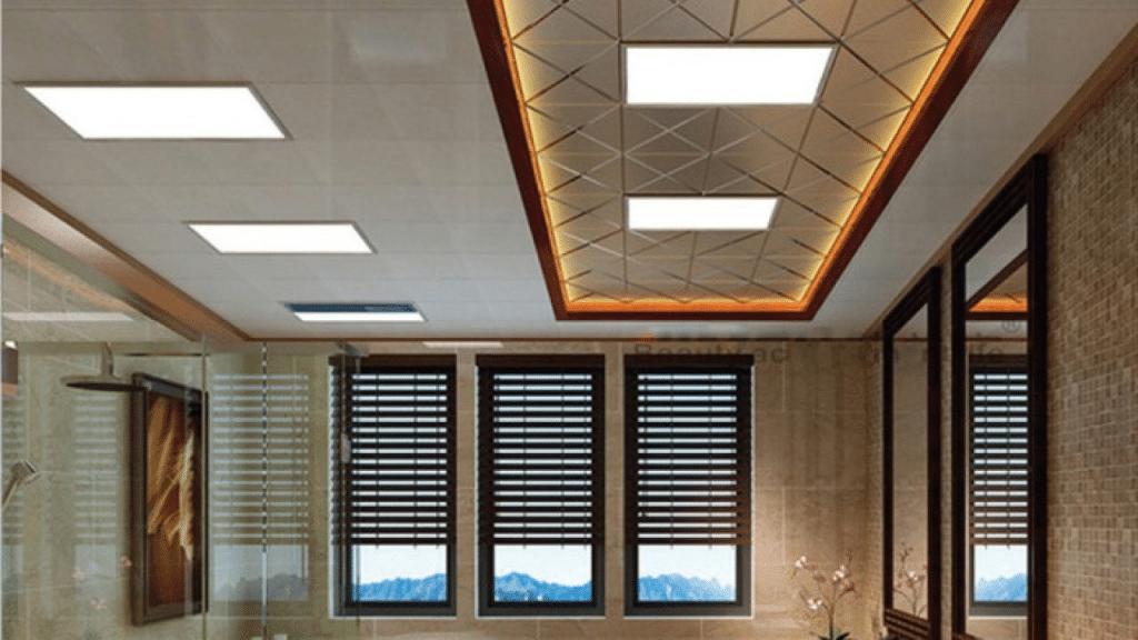 Panel LED ceiling light