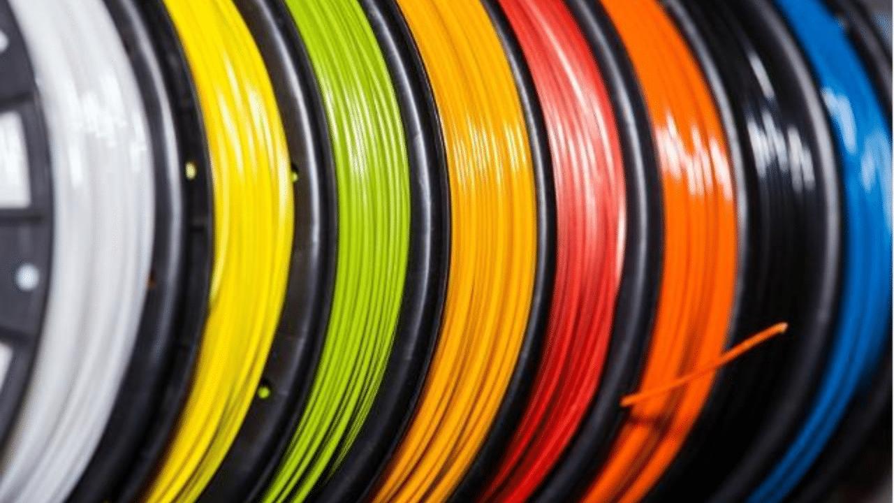 3D printer filament types