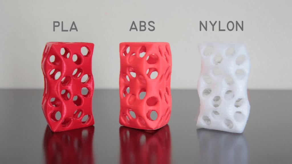 Carbon Fiber Filament 3D printed parts