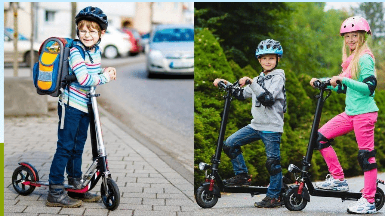 toddler electric scooter