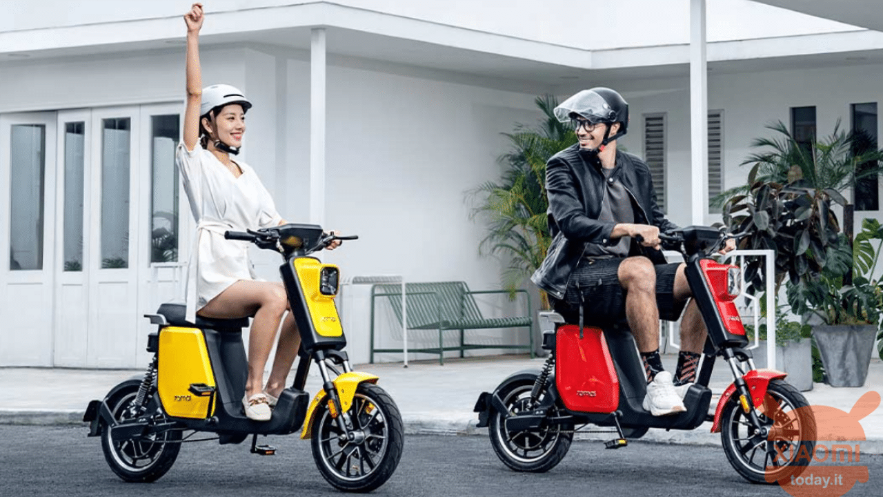 dual-motor electric scooter