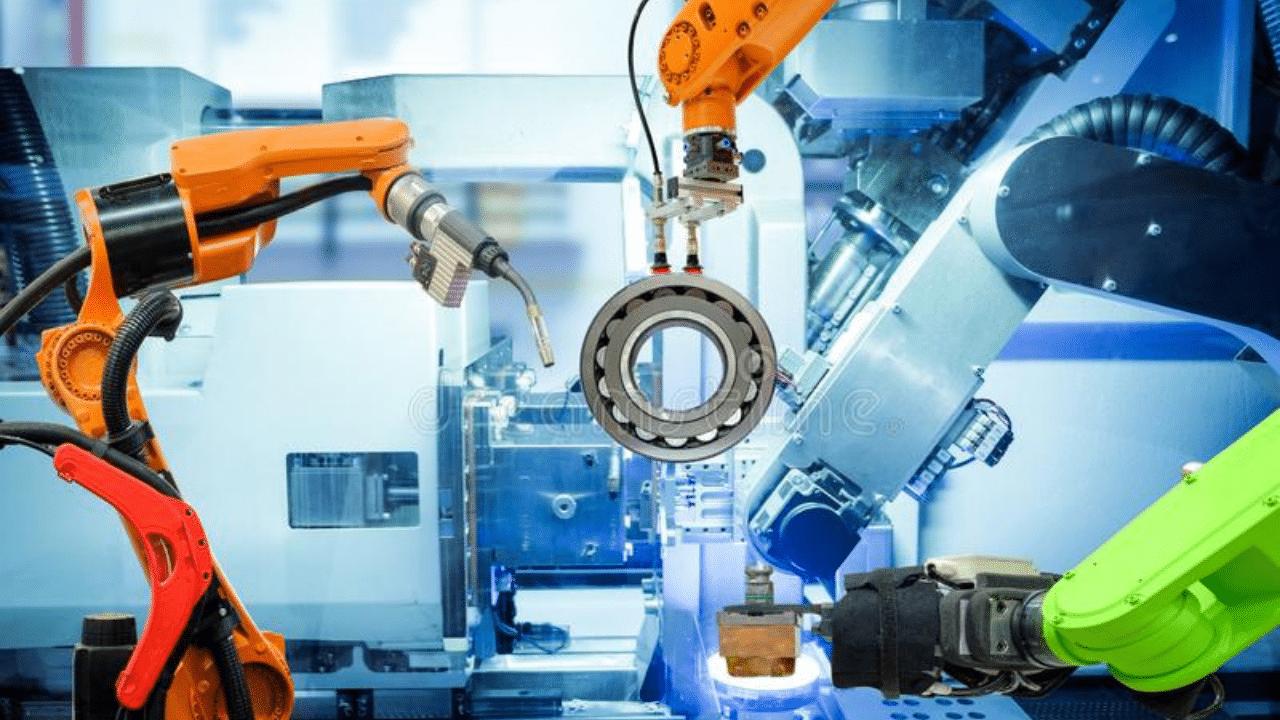 welding industrial robots