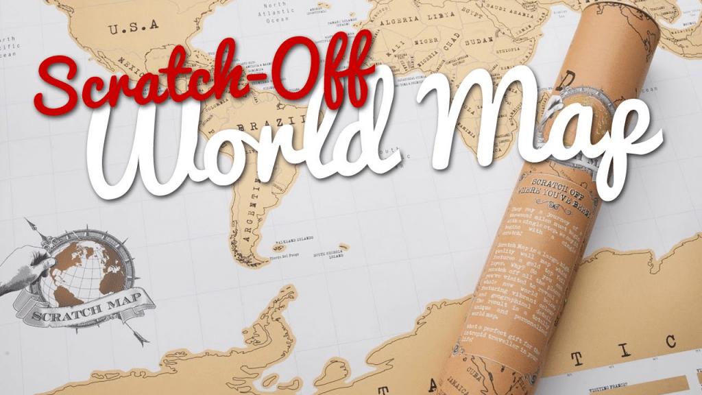 best scratch map app