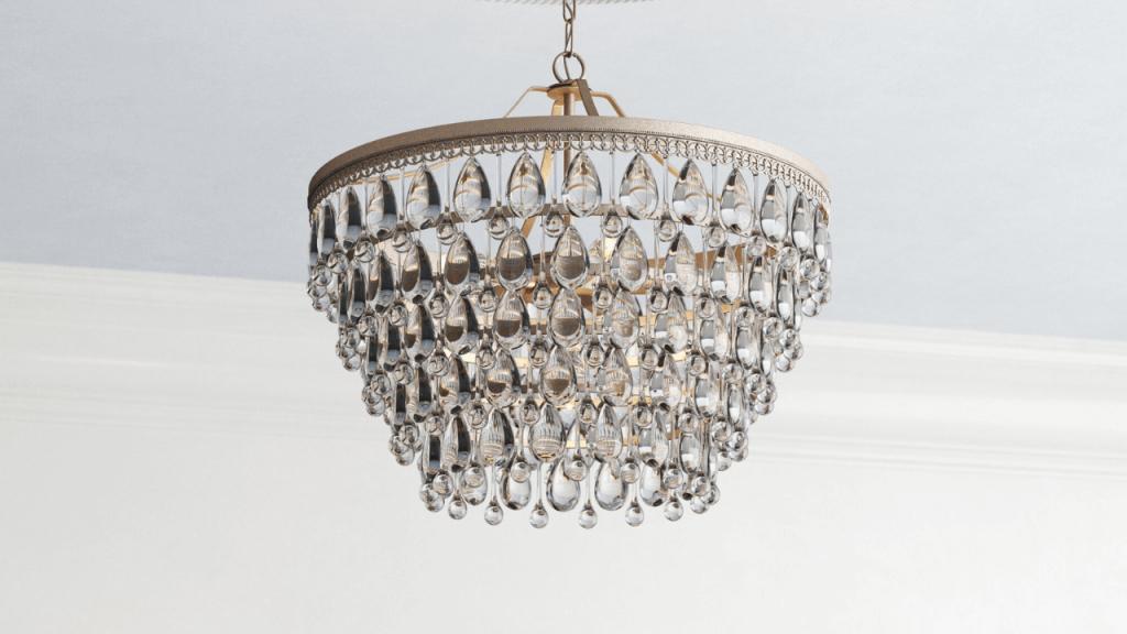 Tier chandelier