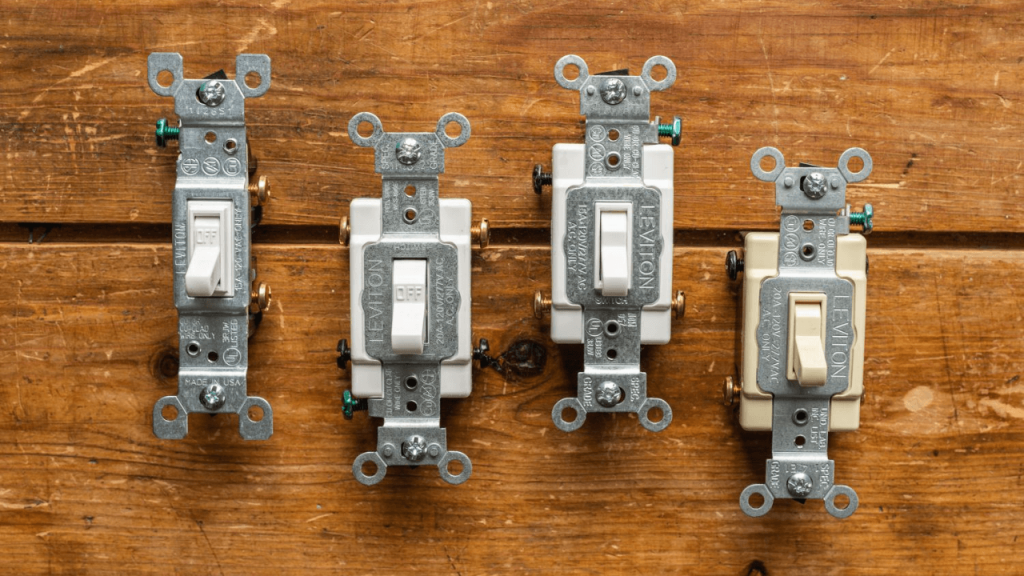 How Standard Single-Pole Light Switch Wiring works