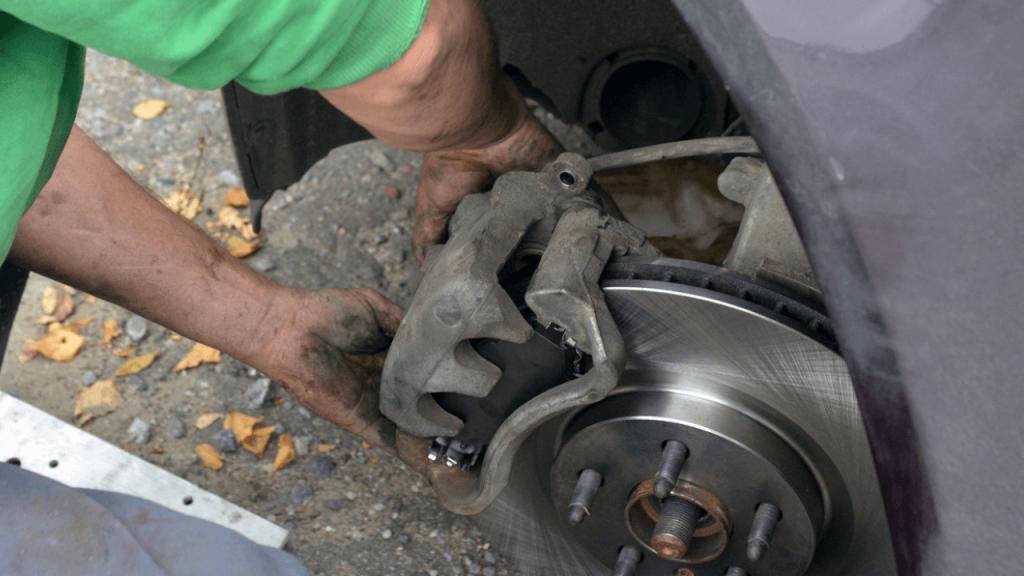What is a brake caliper
