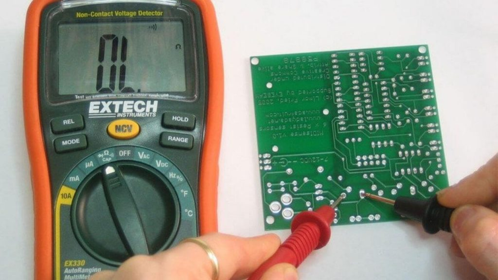 How To Test Continuity With Digital Multimeter. 1