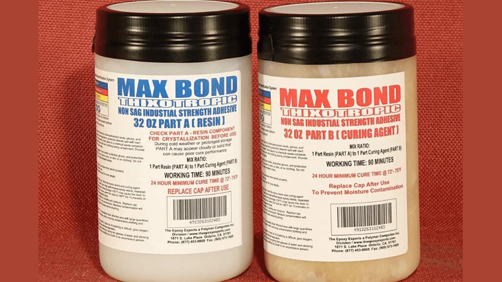 MAX Bond THIXOTROPIC Epoxy Glue