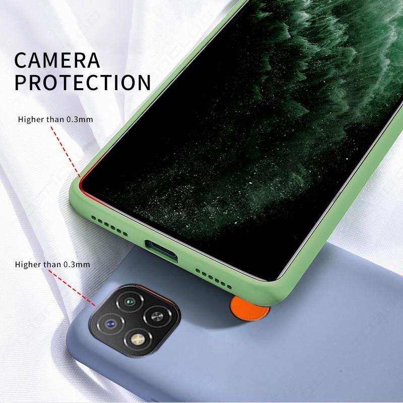 Liquid Silicone Phone Case For Xiaomi Redmi (All Models) 3