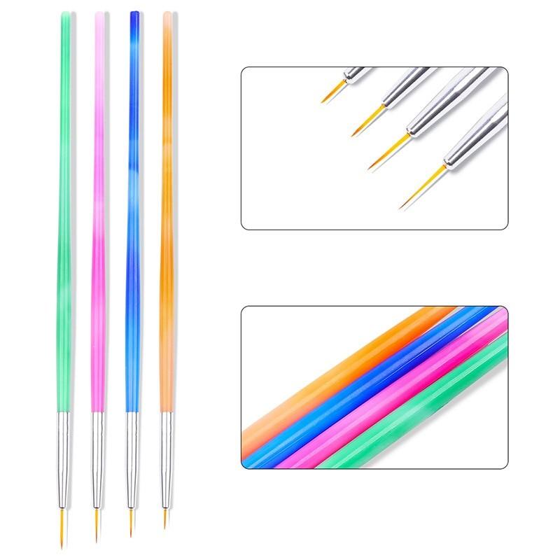 15Pcs Nail Art Brushes Set 4