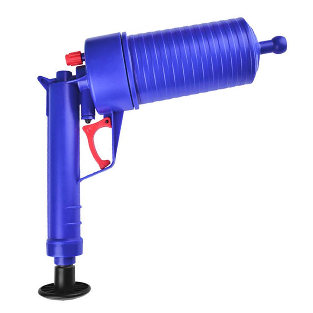 Clogged Bathroom Cleaner With Air Pressure Pump 3