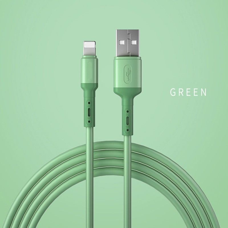 Liquid Silicone USB Cable For iPhone