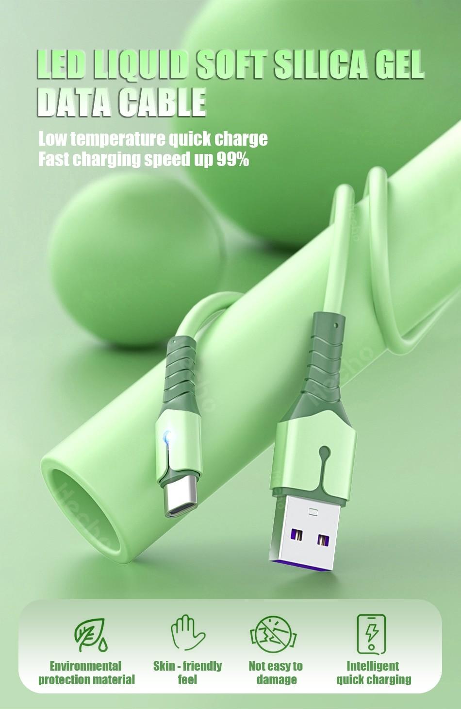 Liquid Silicone USB Cable