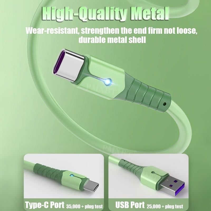 Liquid Silicone USB Cable 5