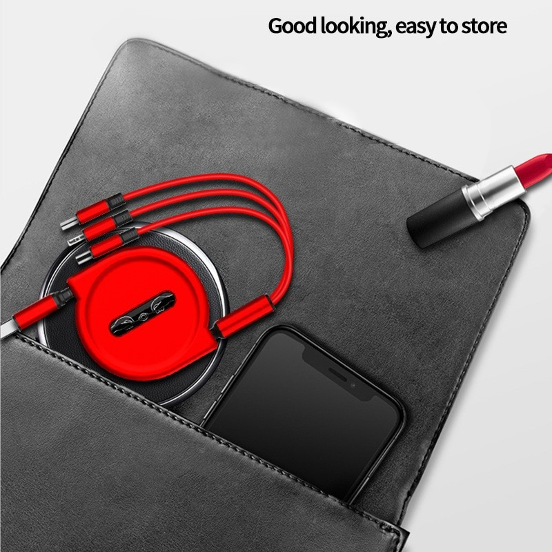 3 In 1 USB Charge Cable 3