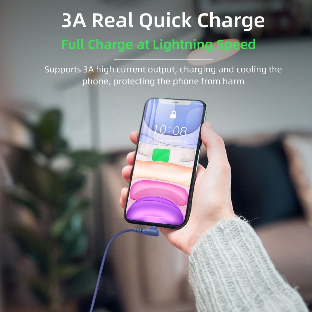 Fastest Charging Cable For Smart Phone 1