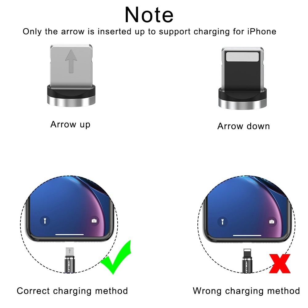 KEYSION LED Magnetic USB Cable 5